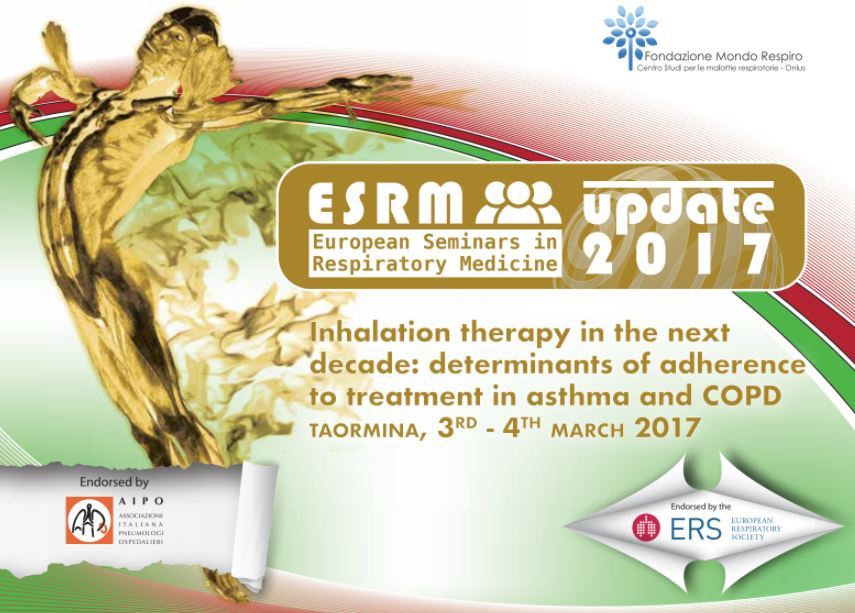 ESRM – Inhalation therapy in the next decade: determinants of adherence to treatment in asthma and COPD